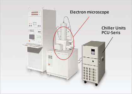 Cooling For The Electronic Microscope